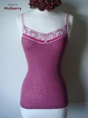 FLASH SALE 50% OFF!! More Colours in Our Fuchsia Velvet Trim Twinset - product images 2 of 12