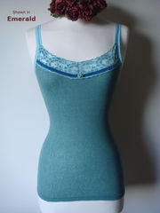 Our Jade Velvet and Lace Twinset - product images  of