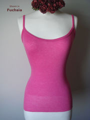 Now 60% Off!! Our Plain Knit Bound Edge Camisole - product images 2 of 6