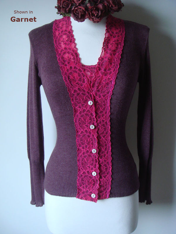 Now 50% Off All Fuchsia Wide Lace Sets - product image