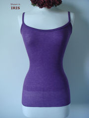Now 60% Off!! Our Plain Knit Bound Edge Camisole - product images 3 of 6