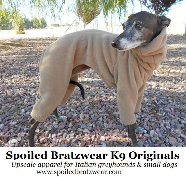 PRO Fleece 200 Custom Suit for Italian greyhounds MANY colors - product image