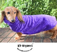 Organic Bamboo Velour Cuddle Vest for Dogs-7 colors - product images 3 of 7