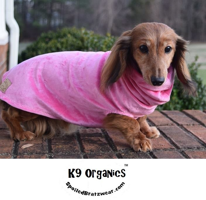 Organic Bamboo Velour Cuddle Vest for Dogs-7 colors - product image