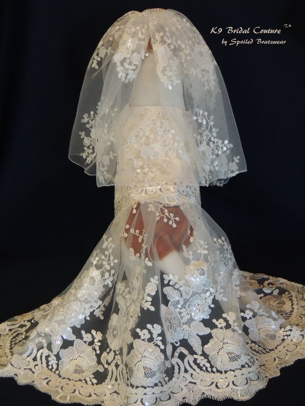Custom K9 Bridal Couture - product image