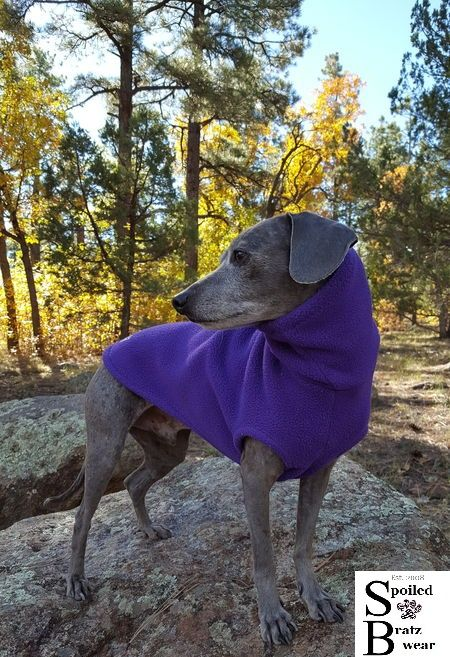 PRO Fleece Sleeveless Vest for Italian greyhounds and small dogs - product images  of