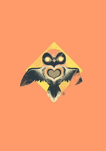 Diamond,Owl/British,Heart,Foundation