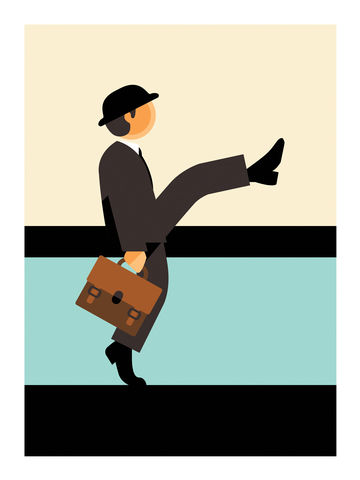 Monty,Python,comedy, monty python, john cleese, funny walks, funny, lol, tv, television, british, art, print, graphic, interiors, home, gift, present