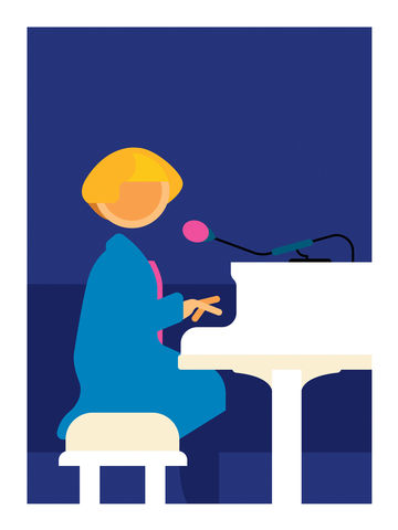 Victoria,Wood,comedy, bbc, victoria wood, standup, piano, comedian, funny, lol, tv, television, british, art, print, graphic, interiors, home, gift, present