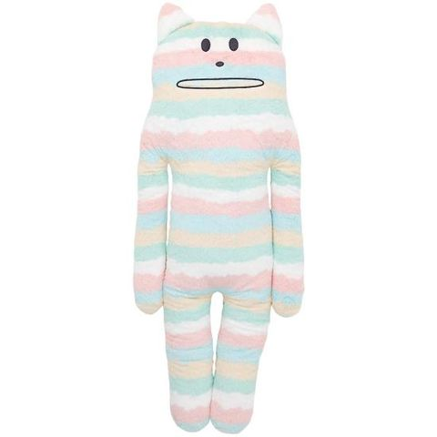 Relax,Kodomo,Korat,Hug,Cushion,L,korat, cat, kitty, mix, colourful, craftholic, craft, plush, soft toy, plain, soft, polyester, kids, children
