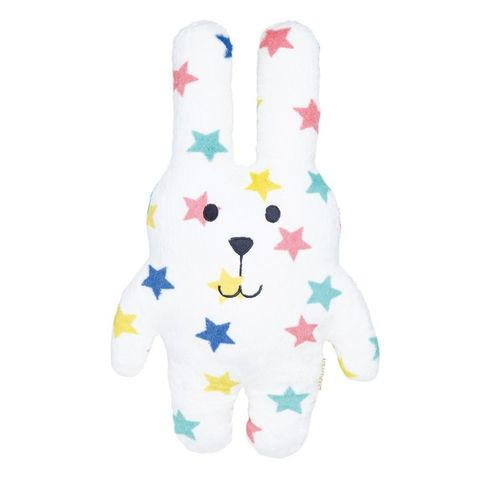 Multi,Star,Rab,medium,Craftholic, Rab, Rabbit, Stars, Plush toy, Hug Cushion, Cuddle Cushion, Japan, Kawaii, Multicoloured, Kids toys, Soft Toy, bedtime buddy