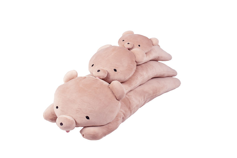 Mochikuma Pink Hugging cushion small - product images  of