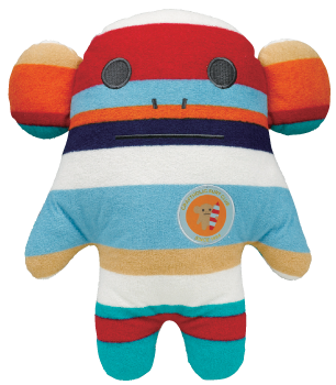 Surf,Craft,Loris,(Medium),accent, surf, stripy, craftholic, craft, plush, soft toy, monkey, loris, surfer, sea, japanese, kawaii, kids, children, large, pillow
