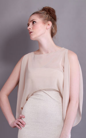 Alpha,|,Musk,Sheer top, Musk Top, Cropped top, Silk mix, Silk mix top, Spring Summer 2012, ss2012, s/s 2012, Spring/Sumer 2012