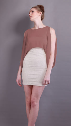 Alpha,|,Musk,Plum,Sheer top, Musk Top, Cropped top, Silk mix, Silk mix top, Spring Summer 2012, ss2012, s/s 2012, Spring/Sumer 2012