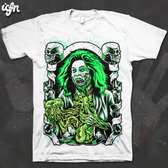 ICFN - Bride of Re-animator - tee - product images  of