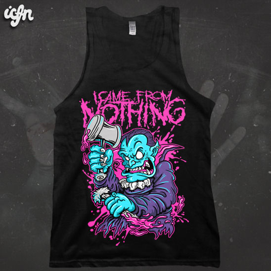 ICFN - Fangs - tee & vest  - product images  of