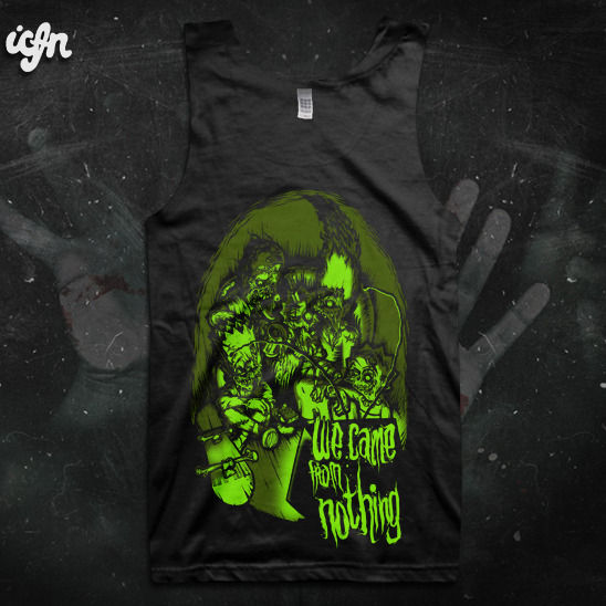 ICFN - We Came From Nothing - product images  of