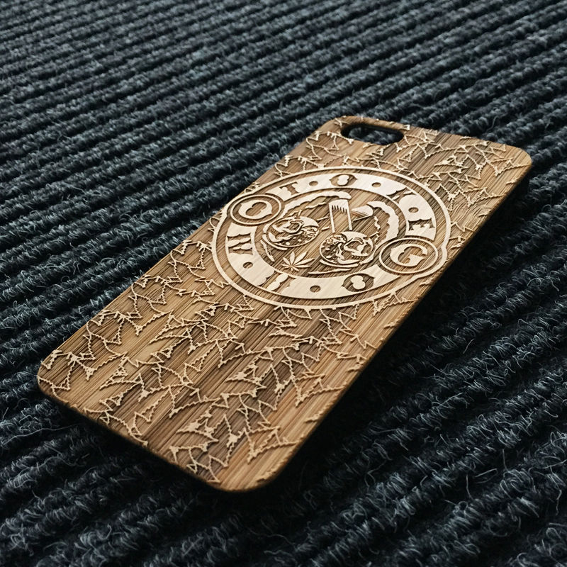 Toke - ROAD - Bamboo phone case - product images  of