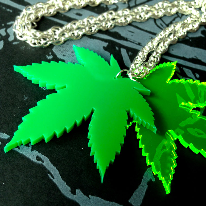 Toke - Leaf - necklace - double - product images  of