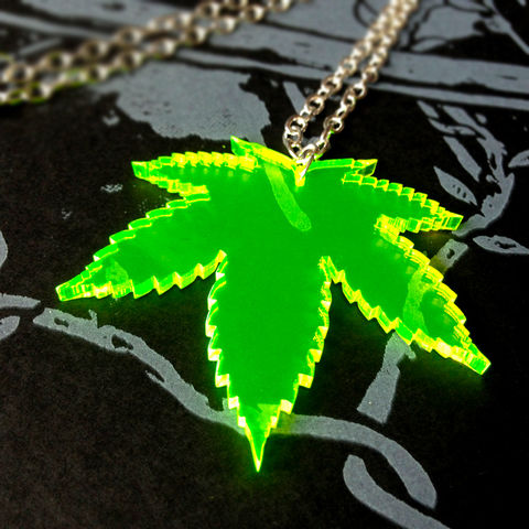 Toke,-,Leaf,necklace,single