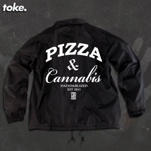 Toke,-,Pizza,Weed,Windbreakers