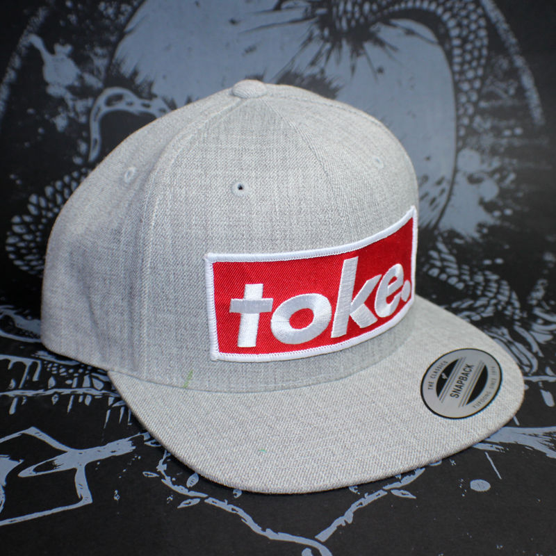 Toke - Heather Grey - Snapbacks - product images  of