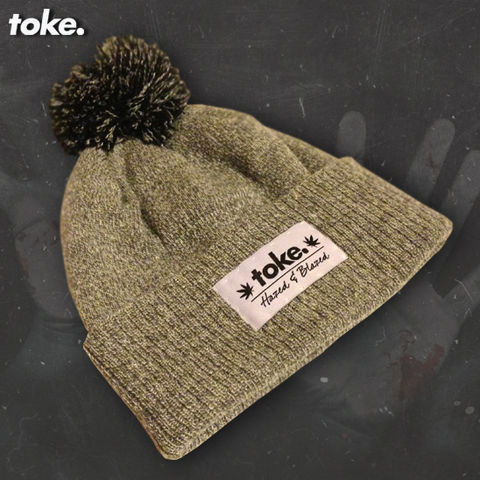 Toke,-,Heather,Bobble,Hat