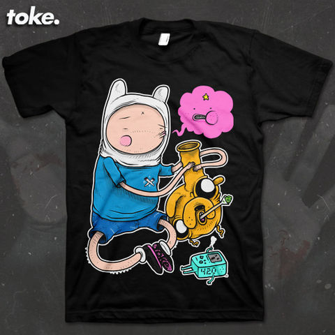 Toke,-,Adventures,with,BONGS,Tee