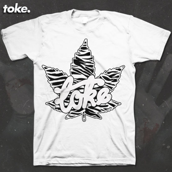 Toke - ZEBRA HAZE - Tee - product images  of