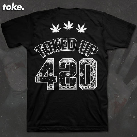 Toke,-,Toked,UP,Tee