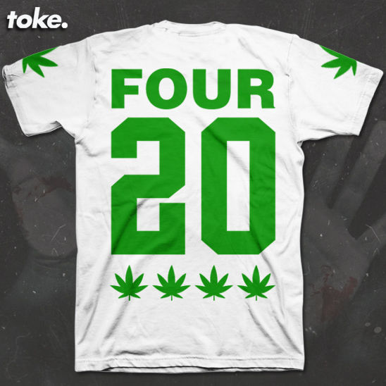 Toke - FOUR 20 - Tee  - product images  of