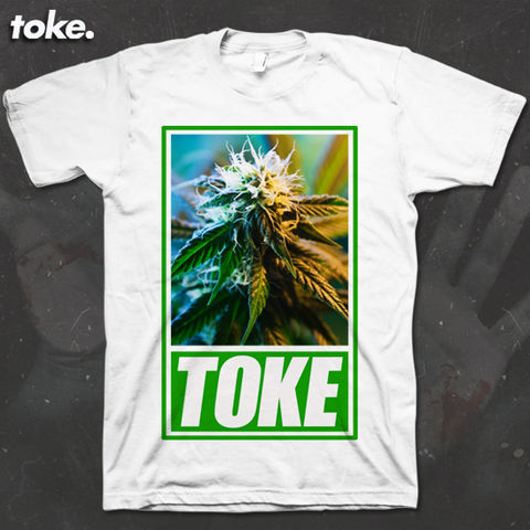 Toke,-,GREEN,Tee,or,Sweater