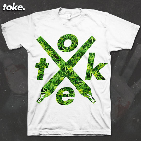 Toke - X joints Filled Weed - Tee - product image