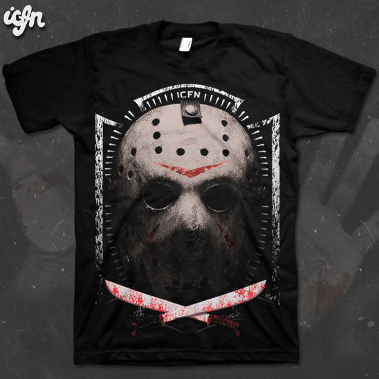 ICFN - Friday The 13th T Shirt - product images  of
