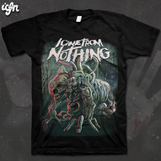 ICFN - The Thing tee - product images  of