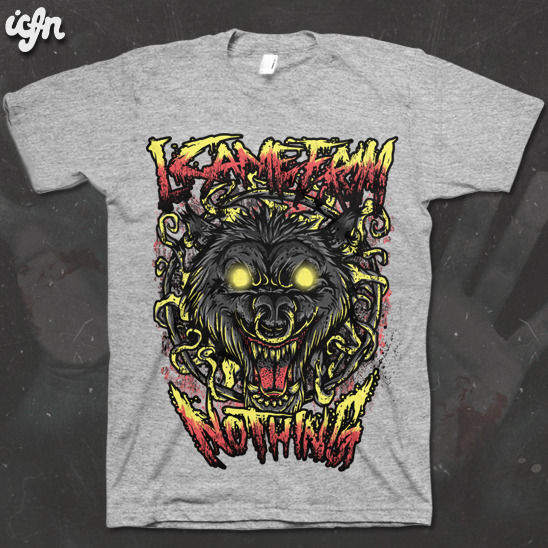 ICFN - Wolf Ring - tee - product images  of