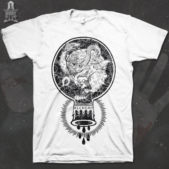 Chimera - We Are Alchemy tee - product images  of