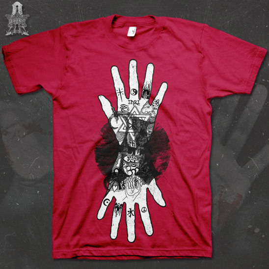 We Are Alchemy - Hands Of Fate - tee - product images  of