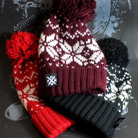Toke,-,WINTER,Bobble,SNOW,Hat