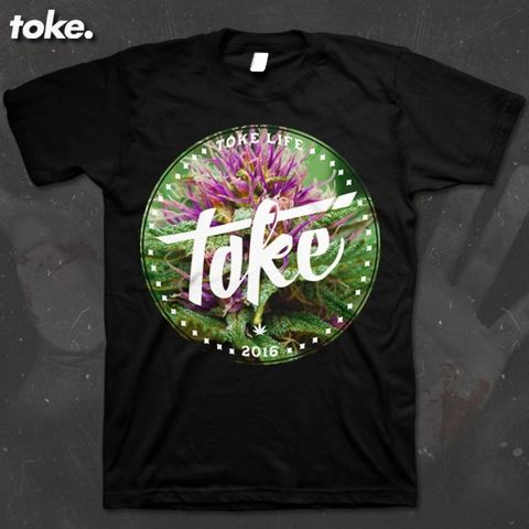 Toke,-,Circle,WEED,2016,T,Shirt,Or,Sweater