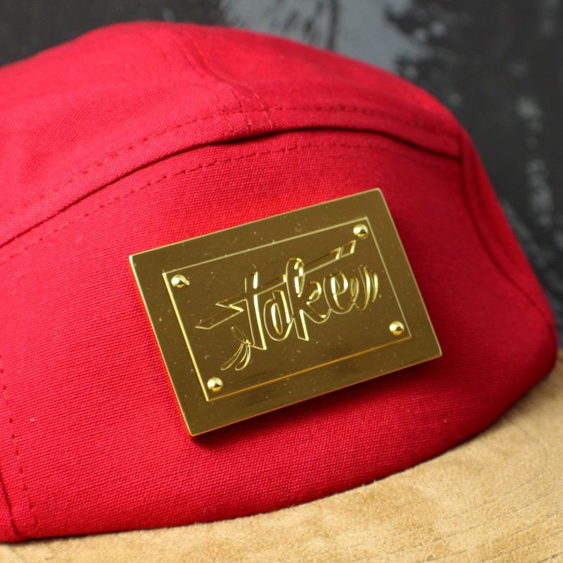 Toke - Gold Toke Badge - 5 Panel Hat - product images  of
