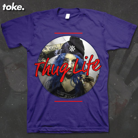 Toke,-,Thug,Life,2016,T,Shirt,Or,Sweater