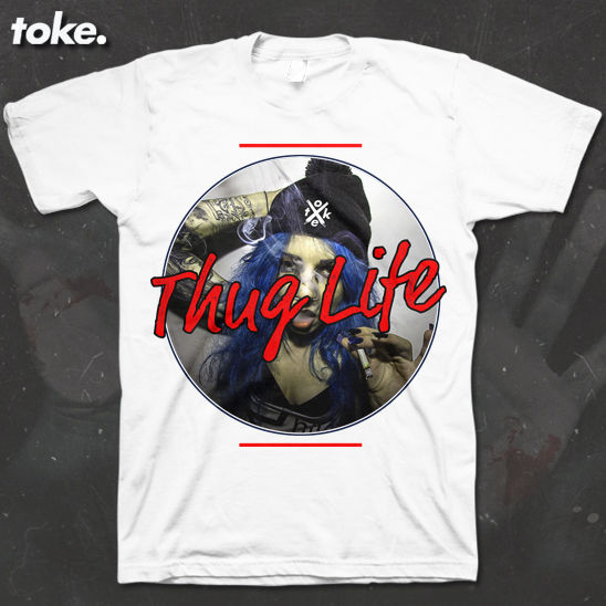Toke - Thug Life 2016 - T Shirt Or Sweater - product images  of