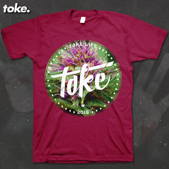 Toke - Circle WEED 2016 - T Shirt Or Sweater - product images  of