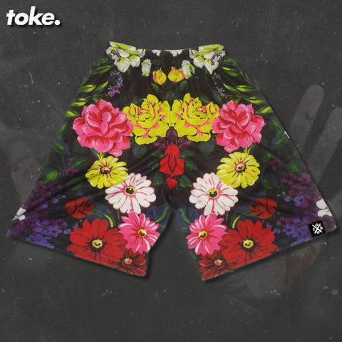 Toke,-,Summer,Floral,2015,Board,Shorts