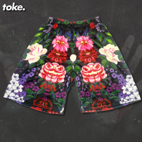 Toke - Summer Floral 2015 - Board Shorts - product images  of