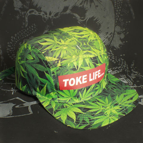 Toke,-,TOKE,LIFE,allover,print,5,Panel,Hat