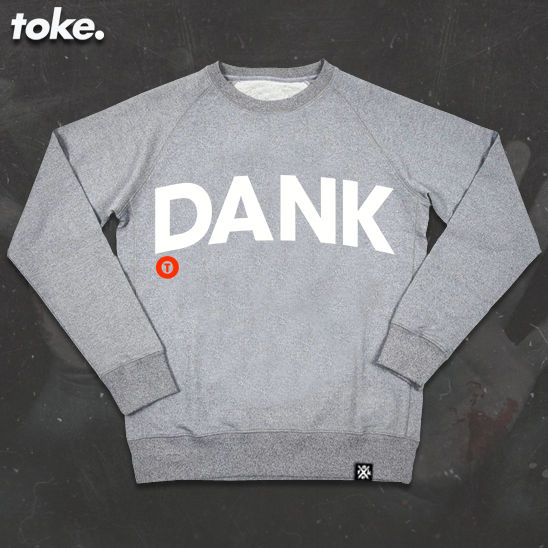 Toke - DANK - Sweatshirt or Zipper Hoody - product images  of