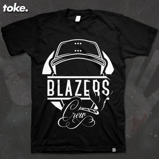 Toke - BLAZERS CREW - T Shirt - product images  of